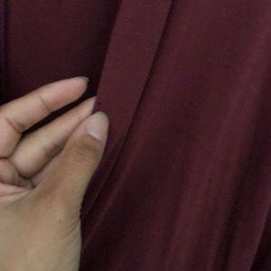 Astr Dresses - Faux wrap dress